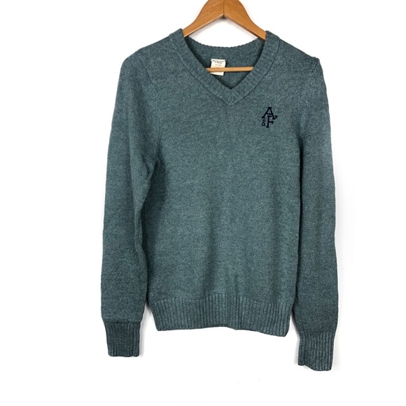 Abercrombie & Fitch Other - A&F Vneck teal sweater ✨